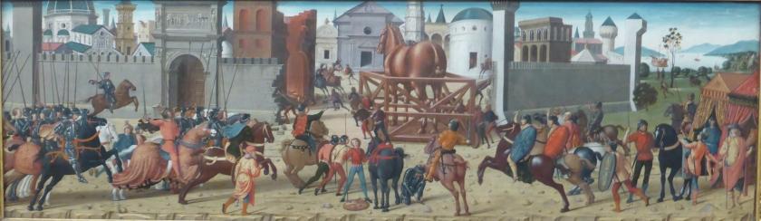 The Wooden Horse (Fitzwilliam Museum M.45)