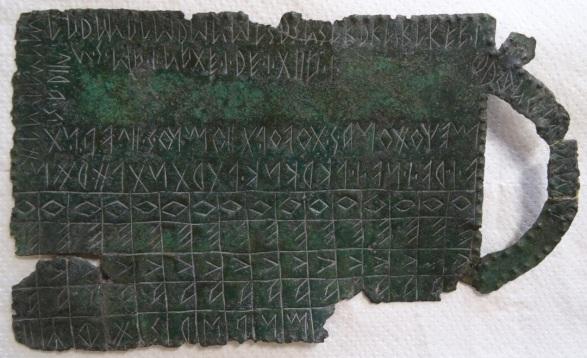 Venetic tablet